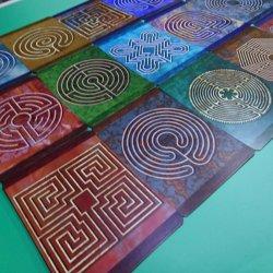 画像1: ラビリンスカード 21種類セット【必要に応じて多様なラビリンスワークを】