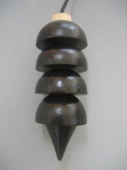 画像3: Osiris オシリスペンデュラム (black color painted)【木製】 【イギリス製 オリジナル BSD公認品】